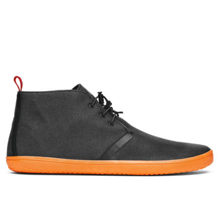 M's VivoBarefoot - Gobi II - Canvas WP - SWR Black/Orange